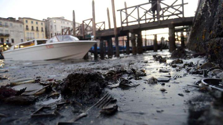 Erosão de canais- Veneza