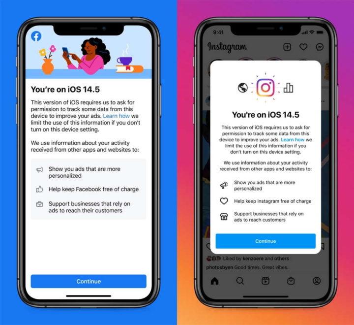 Reglas de autorización de Facebook iOS Apple
