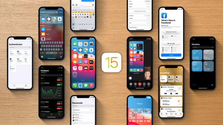 iOS 15 Apple dispositivos novidade iPhone