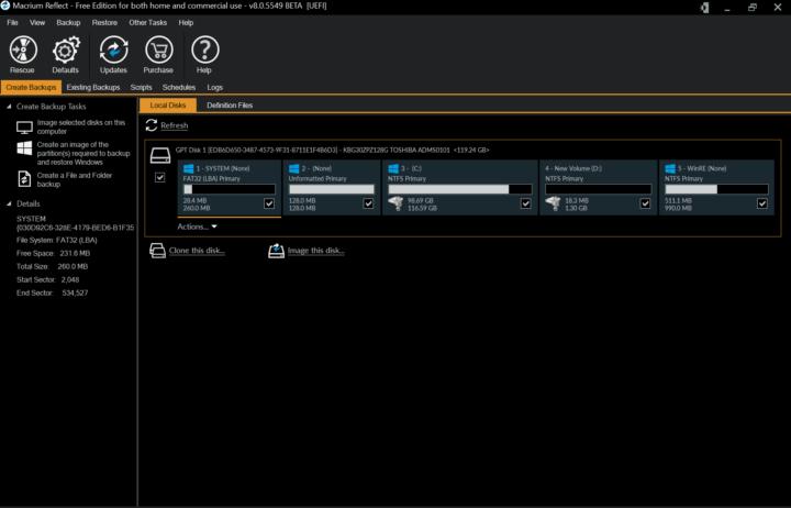 Macrium lança nova versão do seu software de backup: o Reflect 8