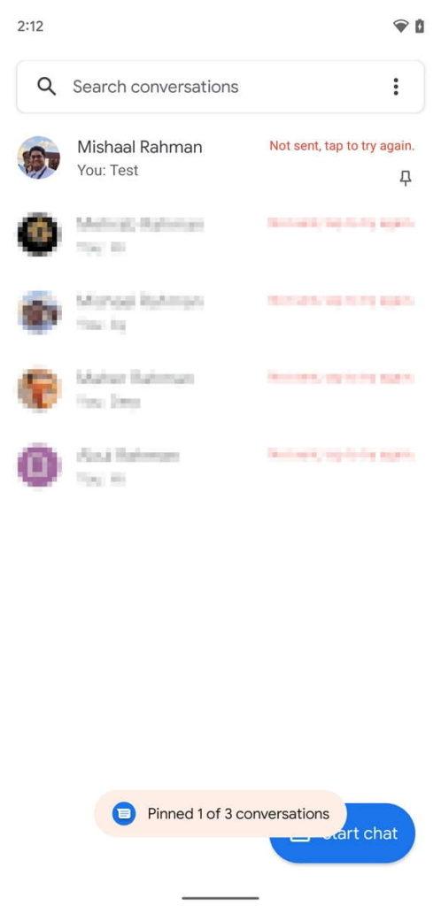 Google Mensagens app Android novidades