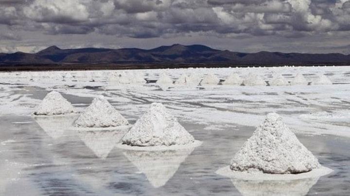 Exploração de lítio