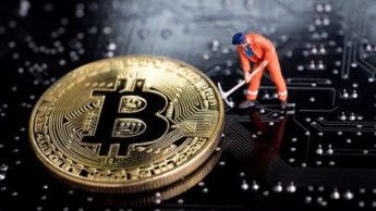 Mineração de criptomoedas