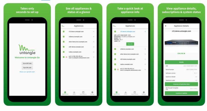 Untangle lança a app móvel de segurança de rede Untangle Go