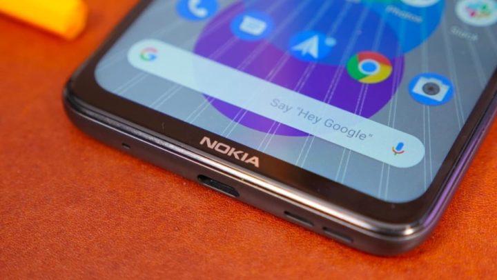 Ilustração Nokia com Android 11
