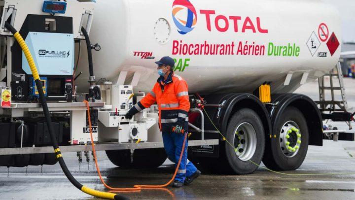 Primeiro voo intercontinental com óleo para fritar no combustível partiu de Paris