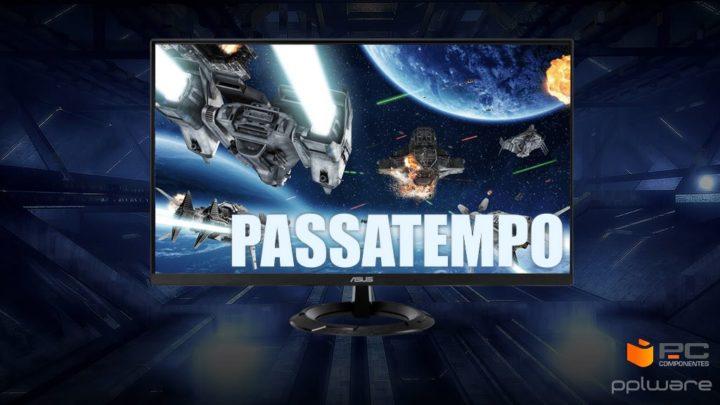 Passatempo: Ganhe um monitor Gaming de 27