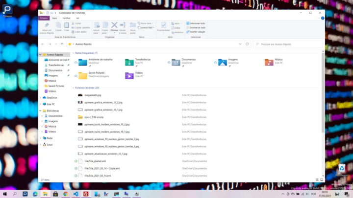 Windows 10 teclado atalho Win sistema