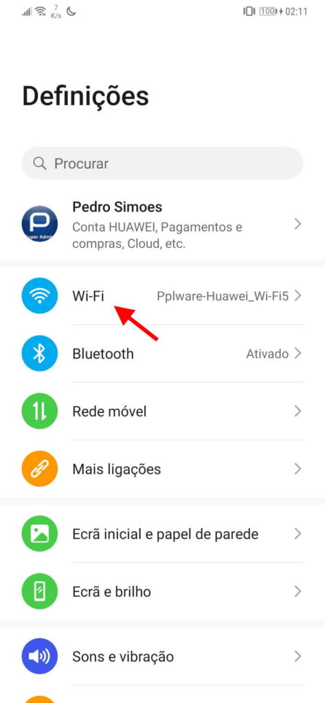 WiFi Android smartphones redes eliminar