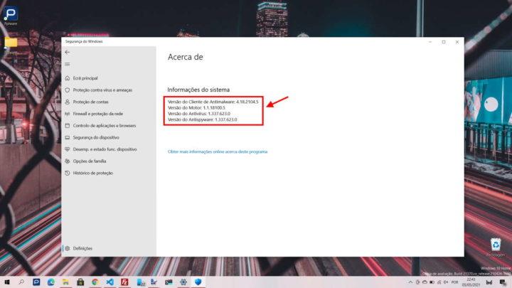 Windows 10 Windows Defender Microsoft espaço problema