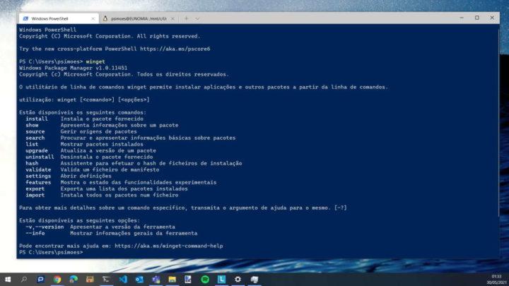 Instalador de aplicaciones de Microsoft Windows 10