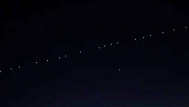 Satélites da SpaceX observados no céu em Portugal