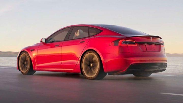 Imagem Tesla Model S Plaid anunciado por Elon Musk