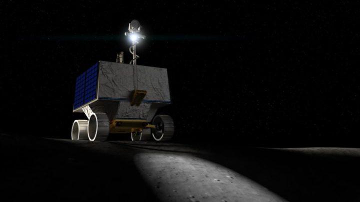 Imagem rover VIPER da NASA para explorar a Lua