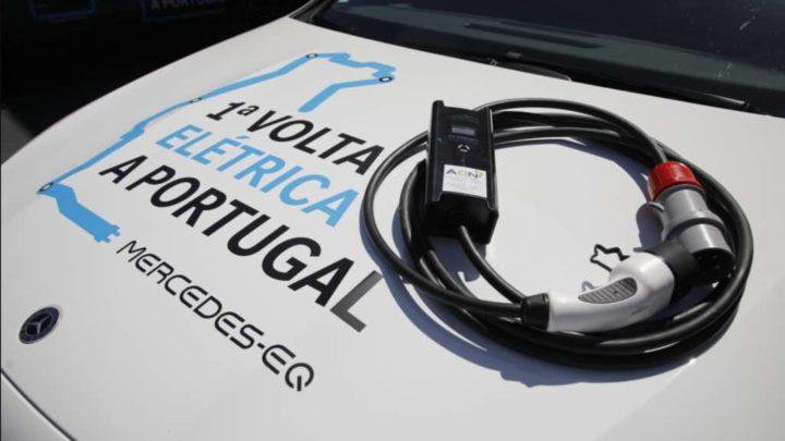 Dar a volta a Portugal num carro 100% elétrico? Sim, é possível