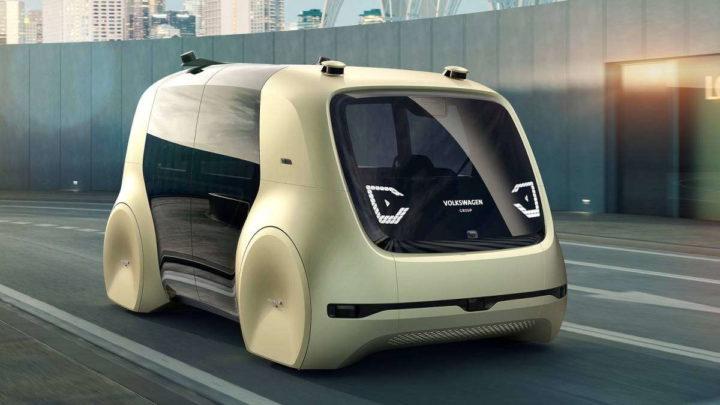 Volkswagen chips carros autónomos marca