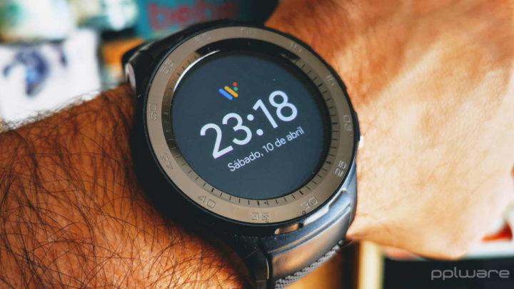 Wear OS smartwatch teclado GBoard Google