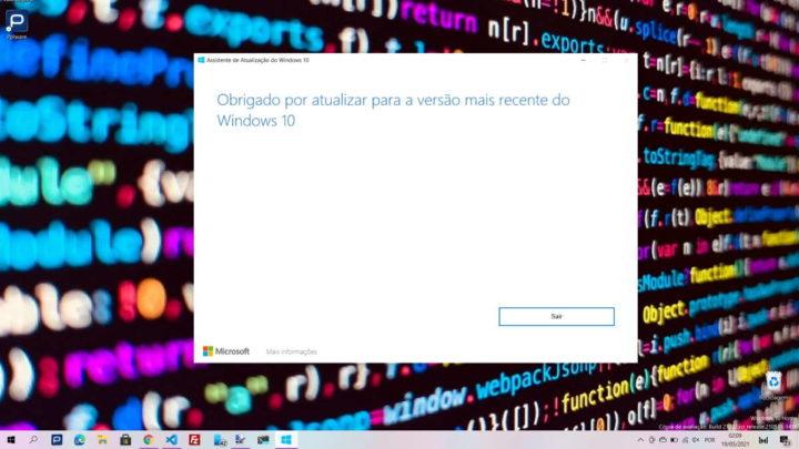 Windows 10 atualização maio Microsoft