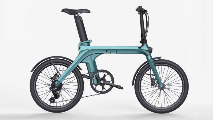 Fiido X - a nova e revolucionária bicicleta elétrica dobrável