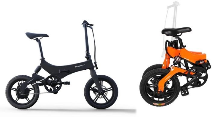 Onebot S6 - an electric city bike
