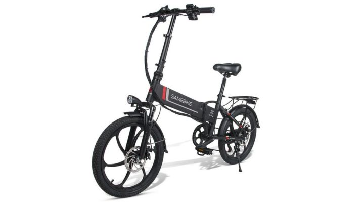 Samebike 20LVXD30 - Uma bicicleta elétrica dobrável por 652,99 €