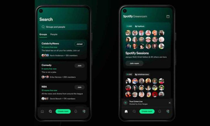 Spotify ataca Clubhouse e lançou a plataforma Greenroom