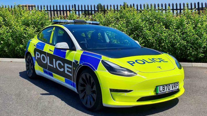 Tesla cria o seu próprio carro de polícia! É baseado no Model 3