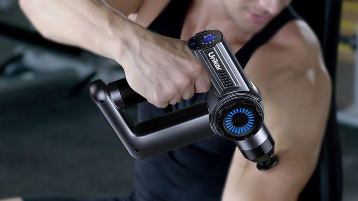 Pistola de massagens Urikar AT1 - Teste de potência, profundidade e velocidade [em vídeo]