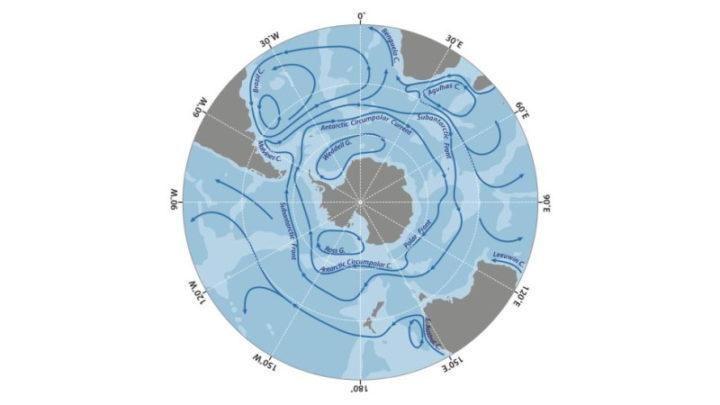 Corrente Circumpolar Antártica (ACC)