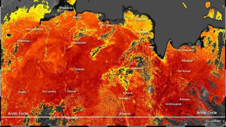 Incrível! Temperaturas da superfície no Ártico atingem 48ºC