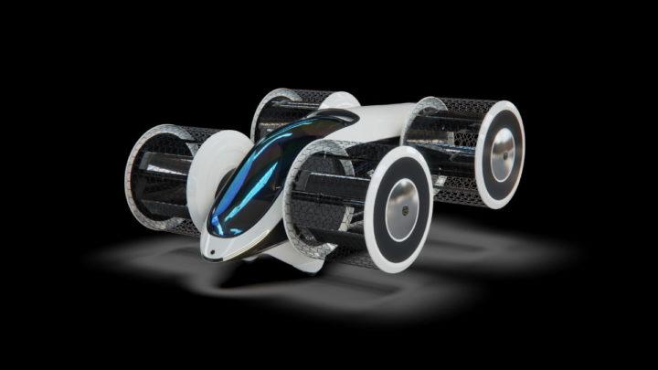 Cyclocar, carro híbrido voador