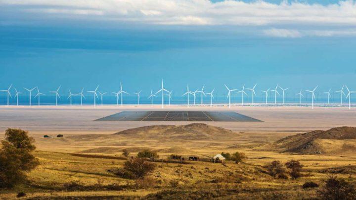 Energia eólica e solar para produção de hidrogénio verde