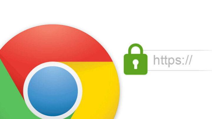Google Chrome browser endereço barra