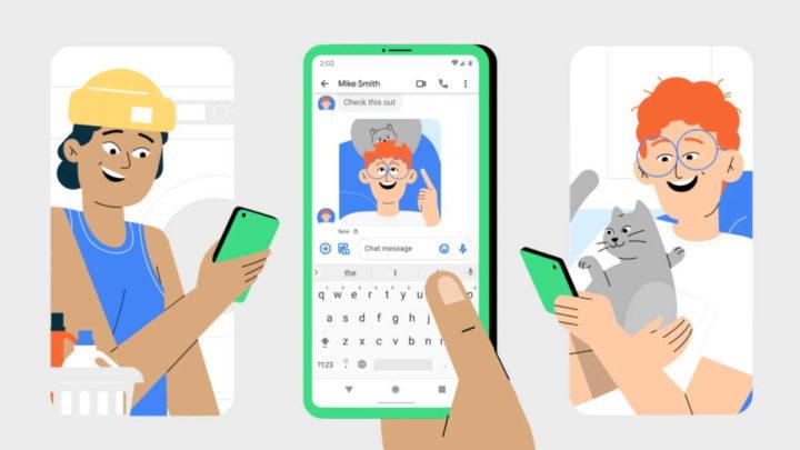 Mensagens Google Android mensagens SMS