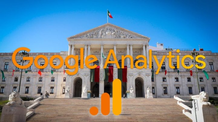 Imagem Assembleia da República com Google Analytics