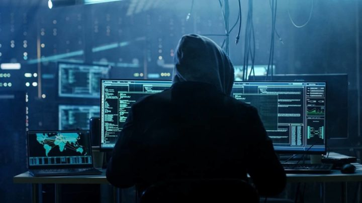 Imagem Hacker criptomoedas