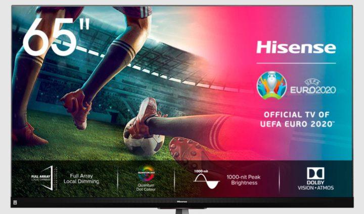 """Hisense: Reembolso até 400€ com o tema """"A Sua Casa, O Seu Estádio"""""""