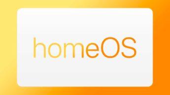 Ilustração Apple homeOS