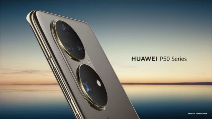 Huawei P50 smartphone HarmonyOS apresentação