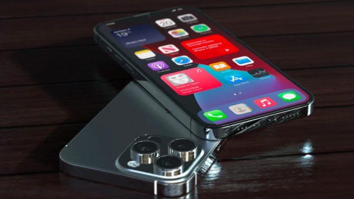 Ilustração iPhone 13 da Apple
