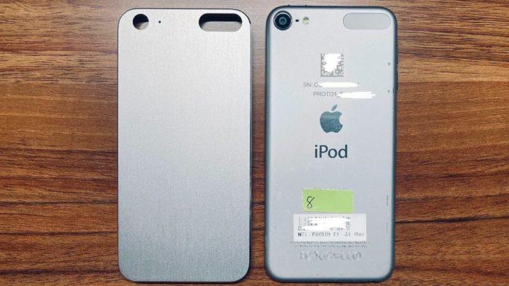 Imagem do suporto iPod Touch de 8.ª geração da Apple