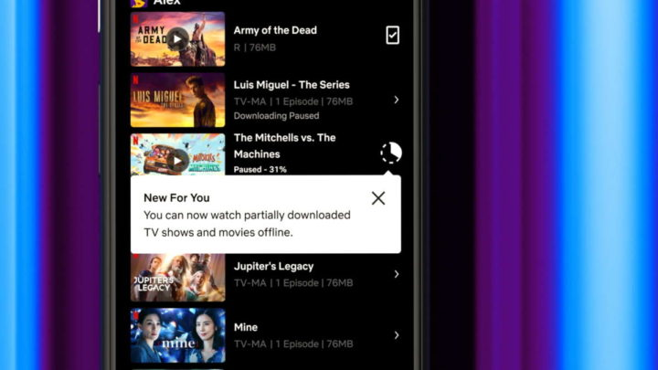 Netflix Android downloads filmes descarregar
