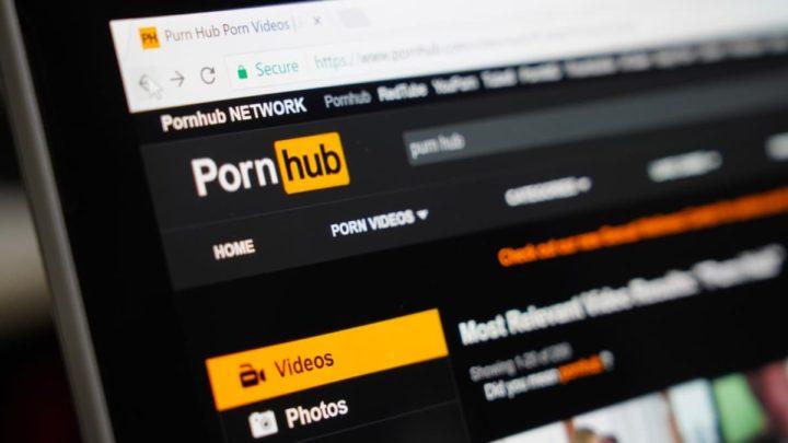 Imagem site PornHub