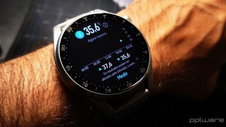 Huawei Watch 3 HarmonyOS smartwatch