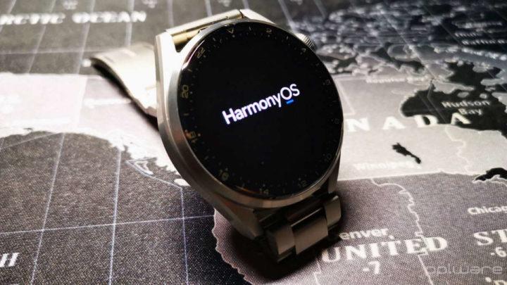 Huawei Watch 3 HarmonyOS smartwatch relógio