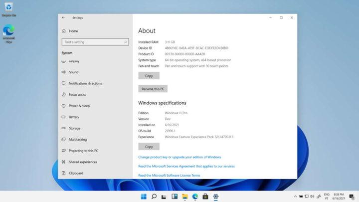 Windows 11 atalhos Microsoft novidades sistema