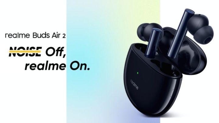 Realme Buds Air 2 - os earbuds de baixo custo com cancelamento ativo de ruído