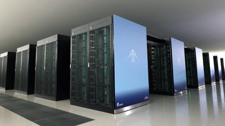 Supercomputador japonês Fugaku.