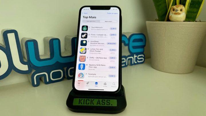 Imagem da loja online da APple a App Store