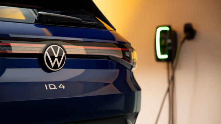 Volkswagen carros elétricos motores combustão